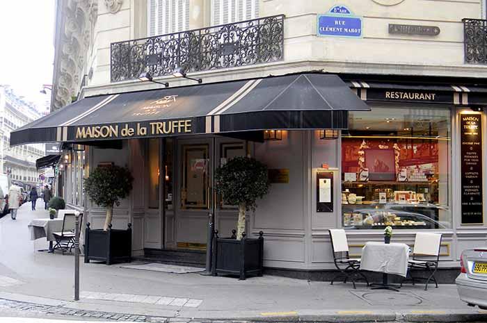 La maison de la truffe hotel chambiges elys es paris - La maison de la truffe ...
